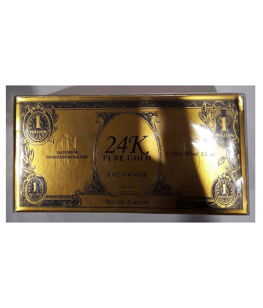 24 K Pure Gold For Men Sellion Perfume 100 ML