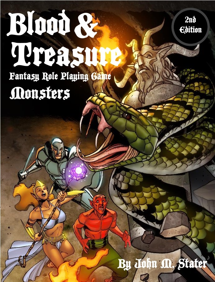 Blood and Treasure Monsters