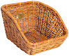 Nantucket Bike Basket Co Tremont Cisco Rear Cargo Basket, Honey