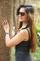 Aswini in lovely Deep Neck Sleeveless Black Dress Spicy Pics ~  Exclusive 68.JPG
