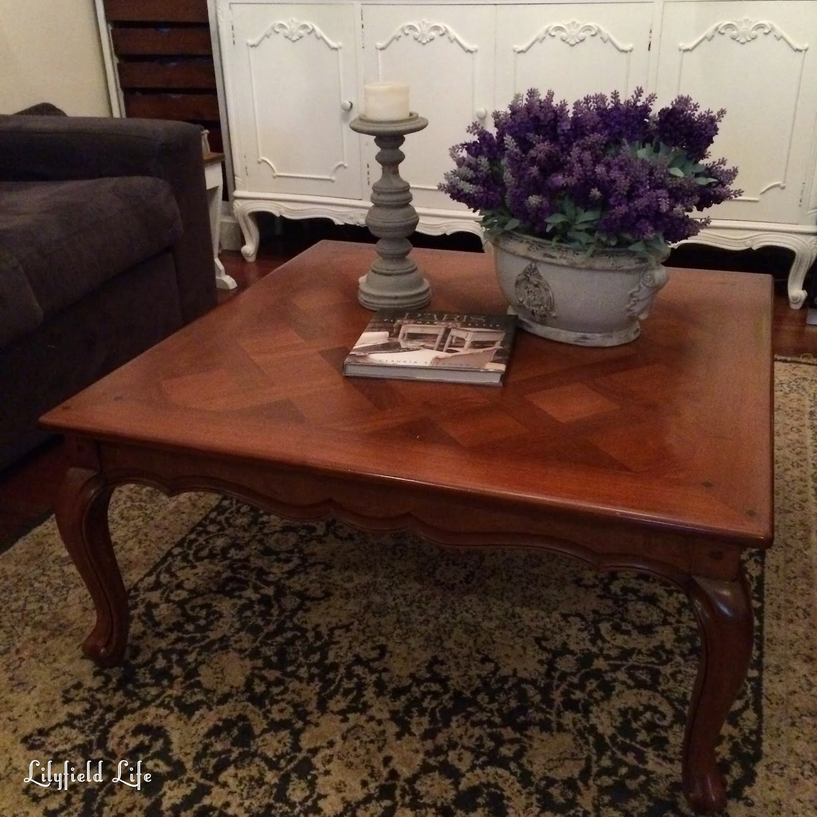 Lilyfield Life a Linen Press a hall table and a coffee table