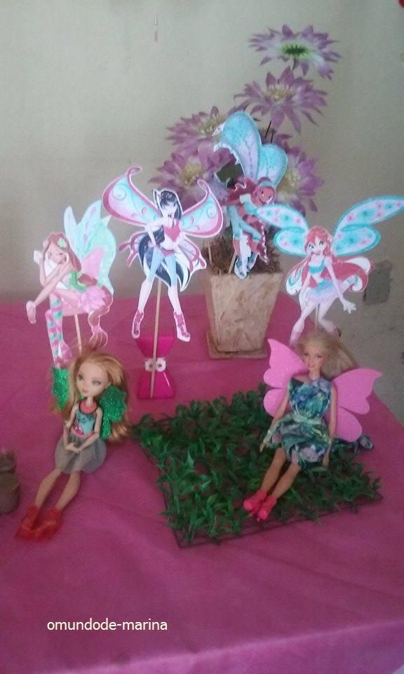 Decoração Winx ~ O mundo de Marina Decoraç u00e3o Aniversário Winx
