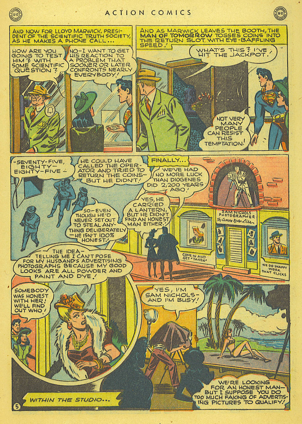 Read online Action Comics (1938) comic -  Issue #114 - 7