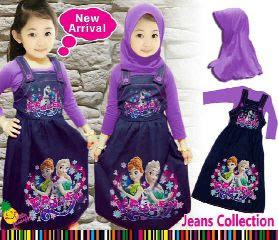 Baju Muslim Anak Perempuan Usia 5 Tahun