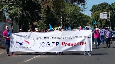 La CGTP Marcha por la Reivindicación de los Derechos de los Trabajadores.