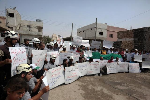 محکومیت ترور ۷تن از نیروهای دفاع مدنی (کلاه سفیدها) در سوریه