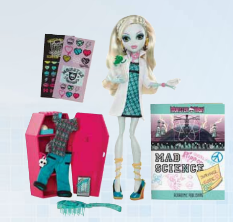 Dreadful Dreary Monster High Wave 3 Preview