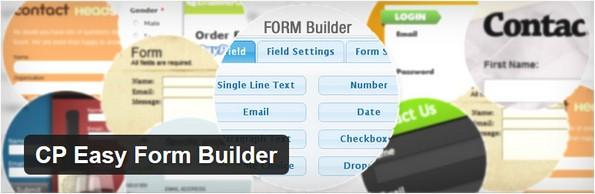 CP Easy Form Builder plugin