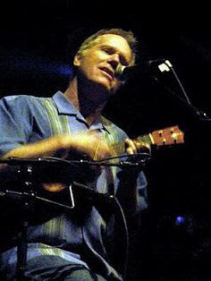 Loudon Wainwright III with ukulele
