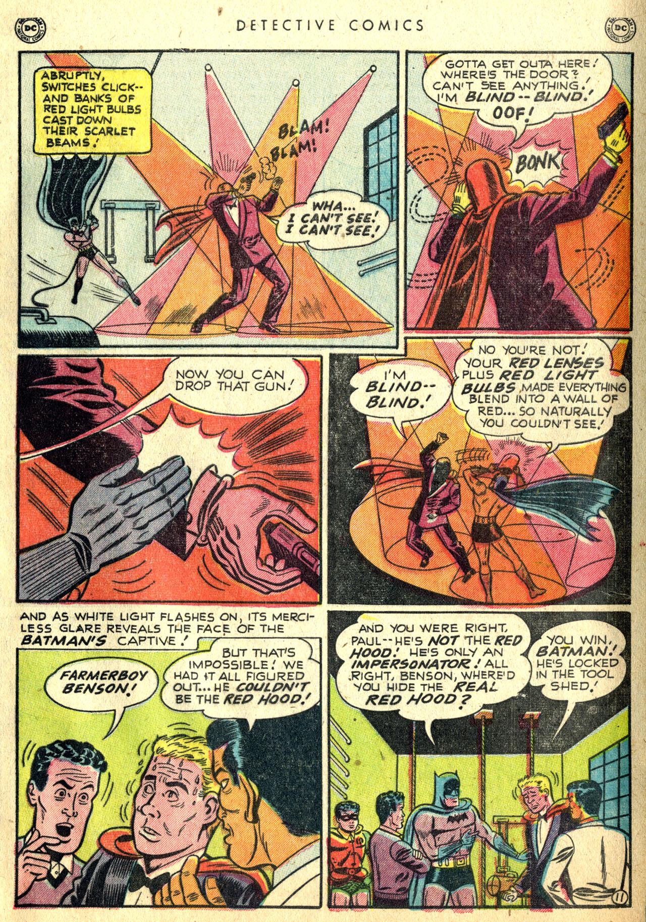 Read online Detective Comics (1937) comic -  Issue #168 - 13