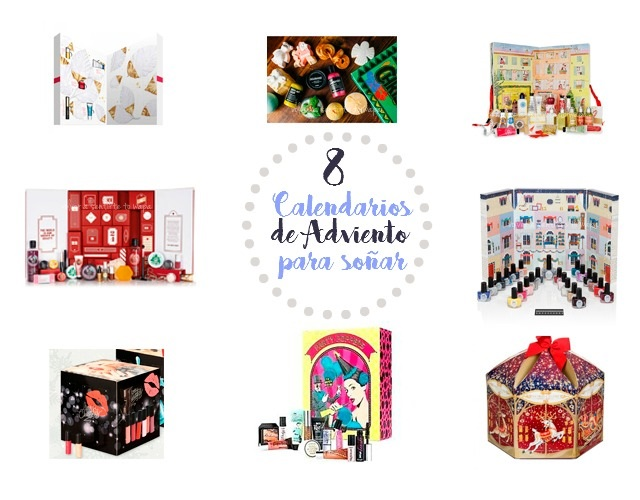 Calendarios de Adviento Beauty: Clarins - Lush - The Body Shop - L'occitane - Ciaté - Lidl - Benefit - Yankee Candle