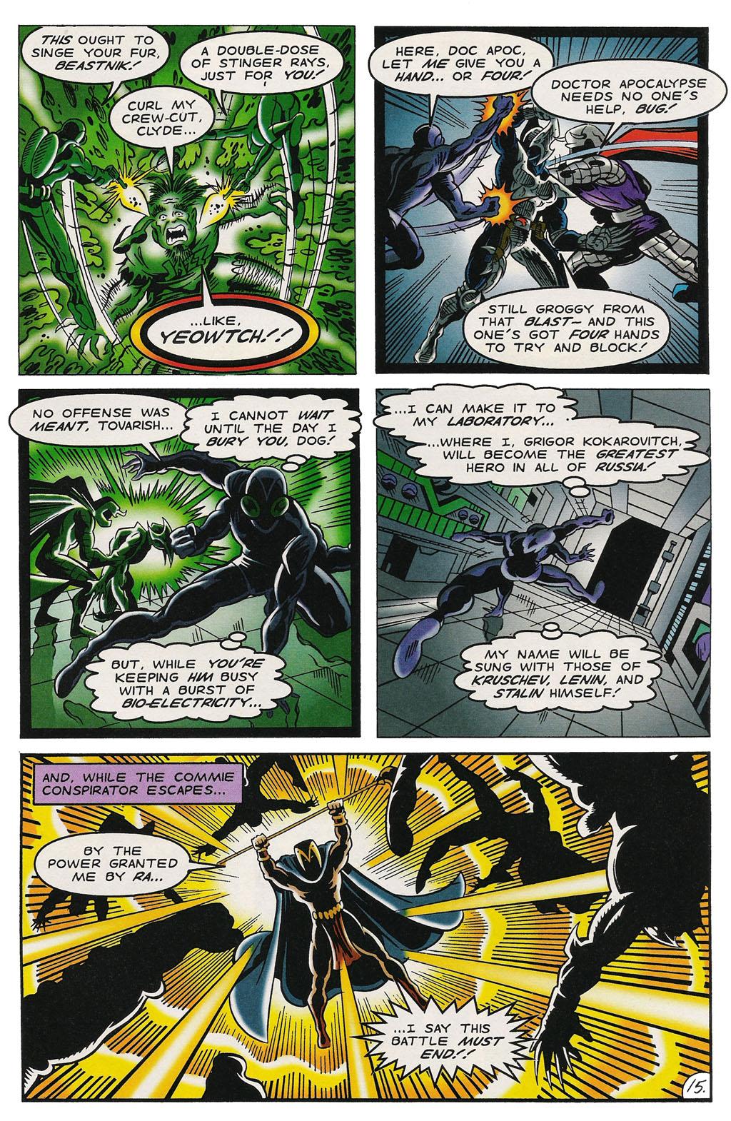 Read online ShadowHawk comic -  Issue #14 - 19