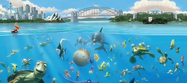 Το Ψάχνοντας τον Νέμο ήταν η πρώτη ταινία της Pixar που διαδραματίστηκε έξω από τις ΗΠΑ 10 Πράγματα που Δεν Ξέρατε για την Ταινία Finding Nemo (2003) της Pixar