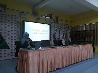 Rapat Dinas Awal Semester Genap Tahun 2018-2019