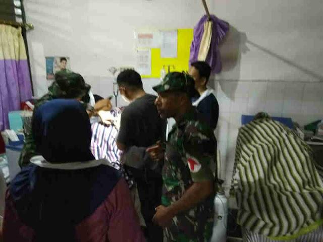 Kesehatan Kodam (Kesdam) Cenderawasih Bangun Posko Kesehatan di Sentani
