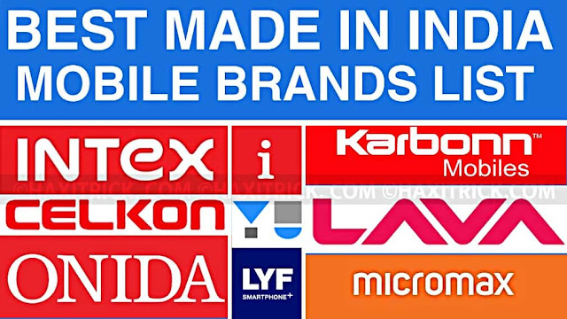 Best Indian Mobile Making Company Brands List 2020