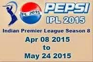 Pepsi IPL 8 2015 live TV channel feed added on asiasat 3S 105.5 E on biss key