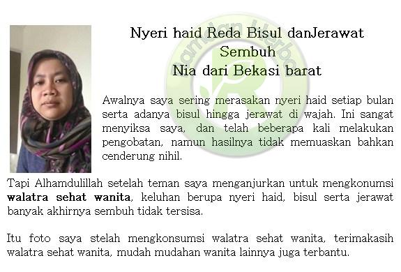 Testimoni Pengguna Bersih Wanita