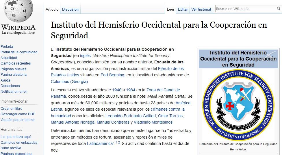 Uruguay Recibe A Directora De Escuela De Las Americas Resumen