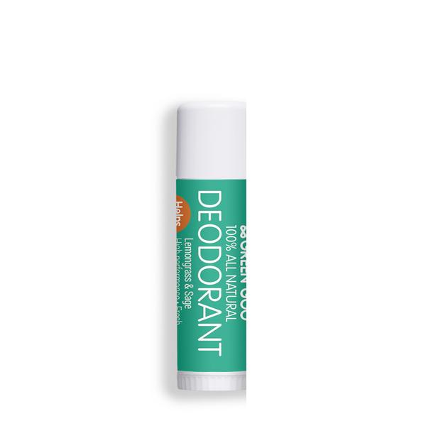 Green Goo natural deodorant stick travel size review