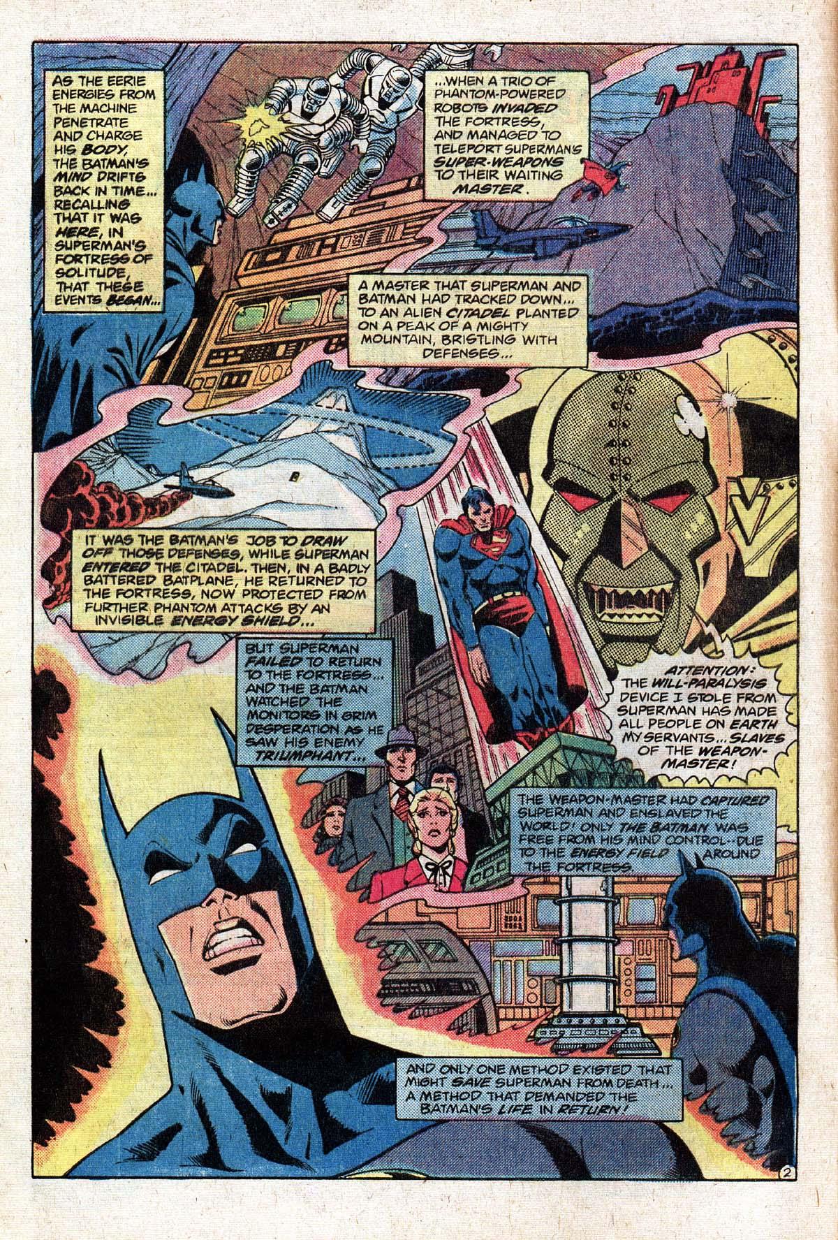 Read online World's Finest Comics comic -  Issue #274 - 4