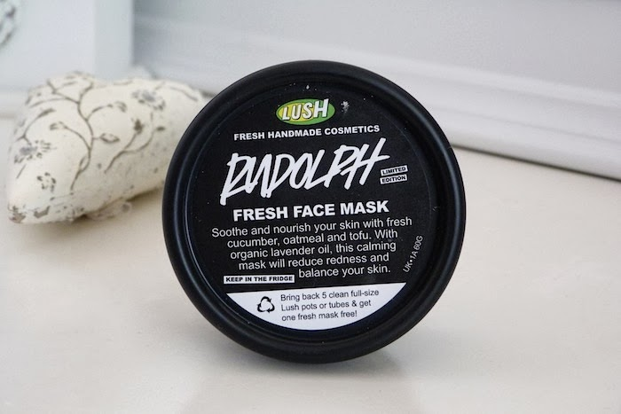 a photo of lush rudolph face mask 2013