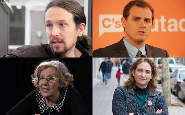 La democracia española: el juego de los partidos nuevos frente