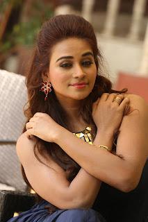 Telugu Anchor Jayanthi Stills in Blue Long Dress   (29)