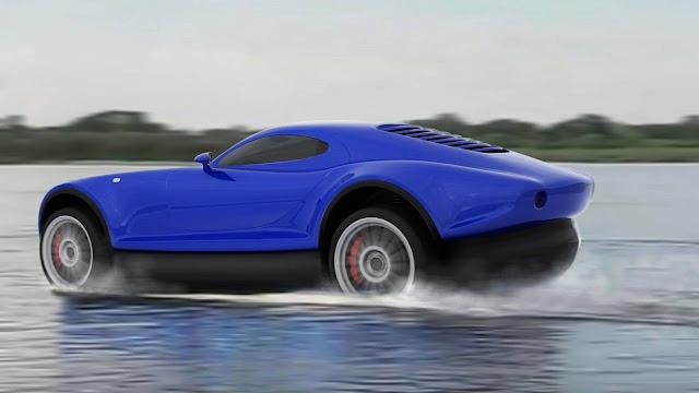 O motorista iria puxar uma alavanca dentro do carro que solta uma bolsa inflável em volta do veículo