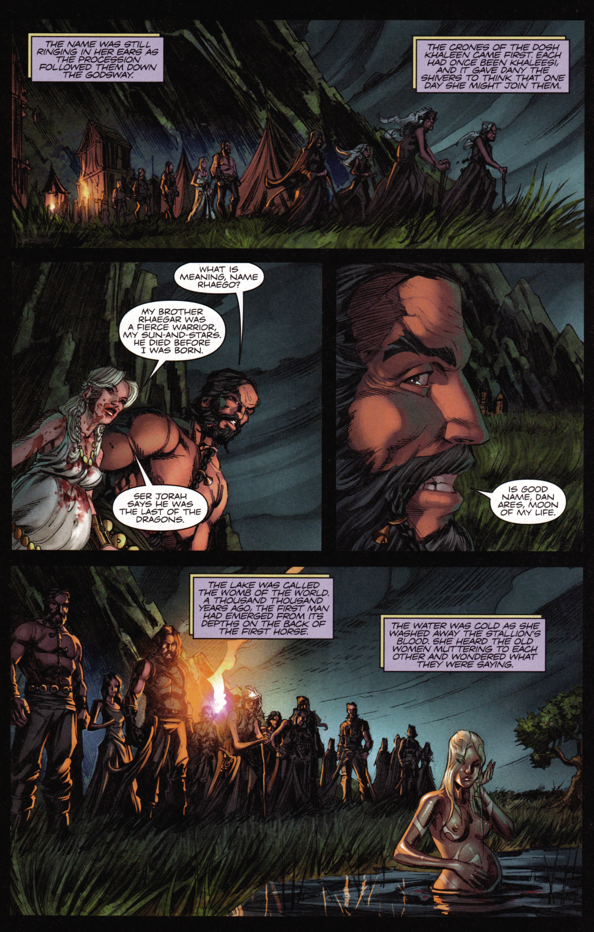 Read online A Game Of Thrones comic -  Issue #15 - 24