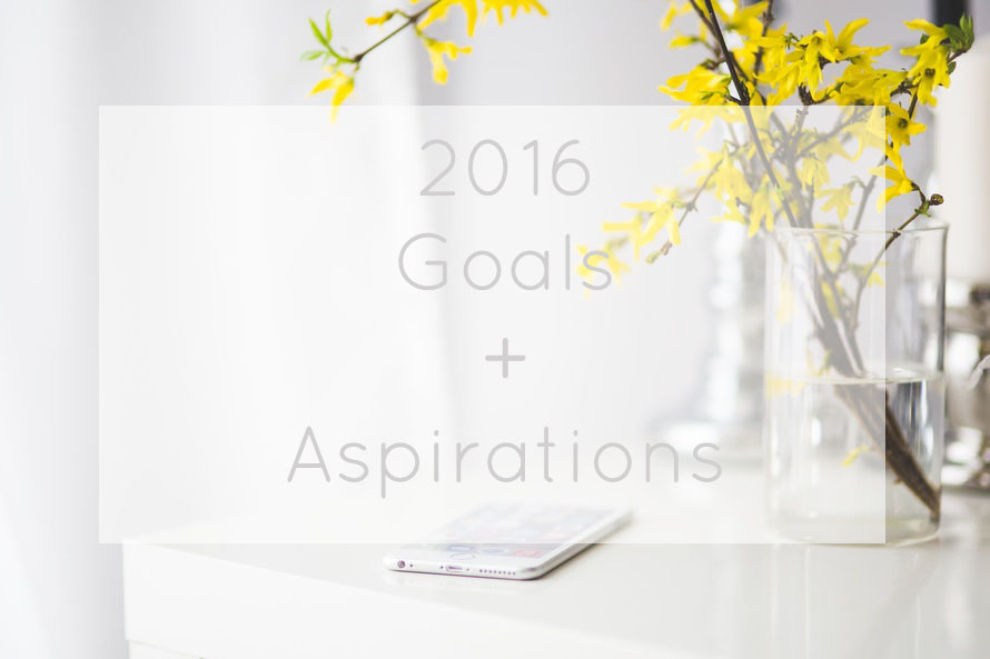 Goals Aspirations 2016 resolutions beauty fitness lifestyle blog