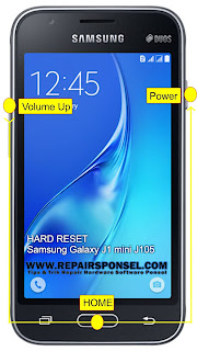 Hard Reset Samsung Galaxy J1 mini J105