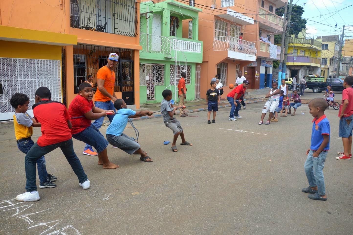 Realizan Competencia De Juegos Infantiles Por La Paz En Sector