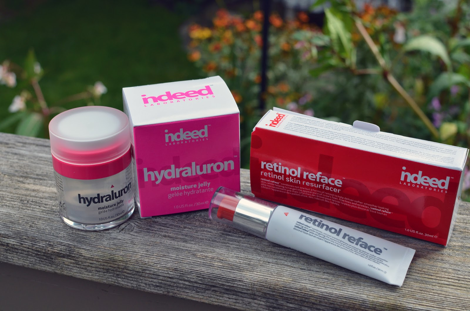 My latest Indeed Labs haul: Hydraluron Jelly and Retinol Reface