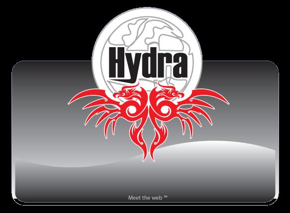 Hydra Browser Logo