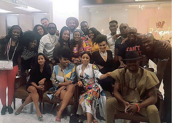 yemi alade birthday pictures