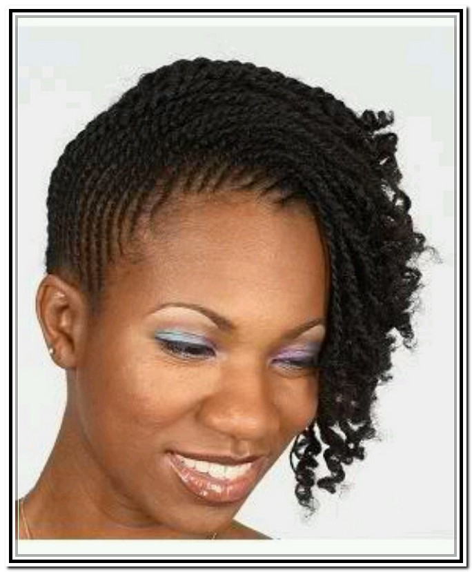 Two Strand Twist Hairstyles