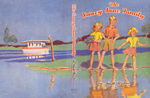 The Saucy Jane Family Enid Blyton