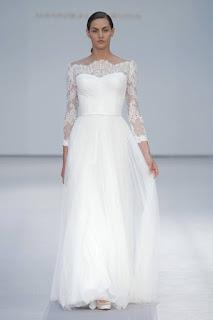 vestidos novia pasarela costura espana 2016