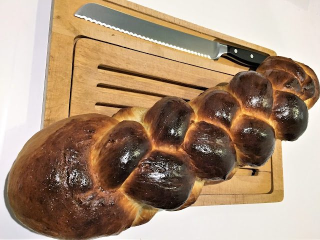Zopf gebacken