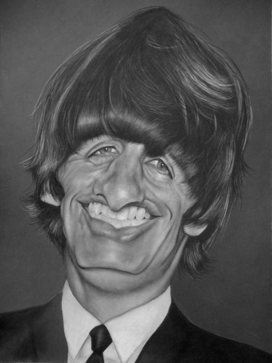 Ringo Starr por Christian Stellner