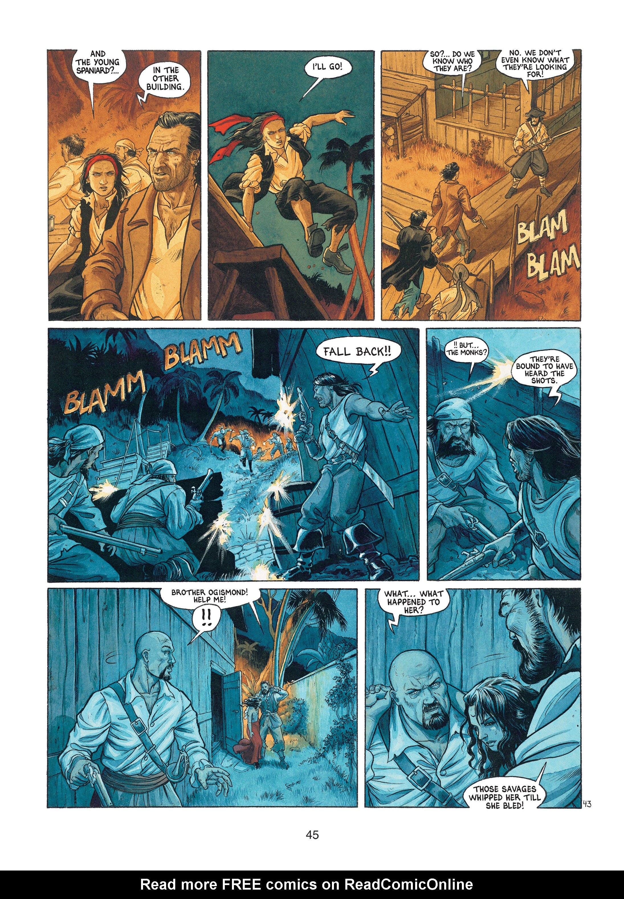 Read online Barracuda comic -  Issue #1 - 45