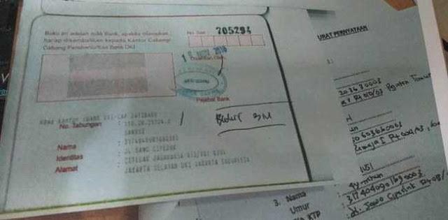 Pak Anies Tolong Buka Blokir Rekening Milik Warga