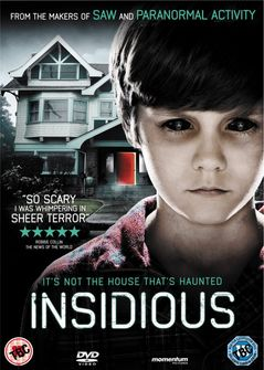 Poster of Insidious 2010 720p Hindi BRRip Dual Audio Full Movie Download