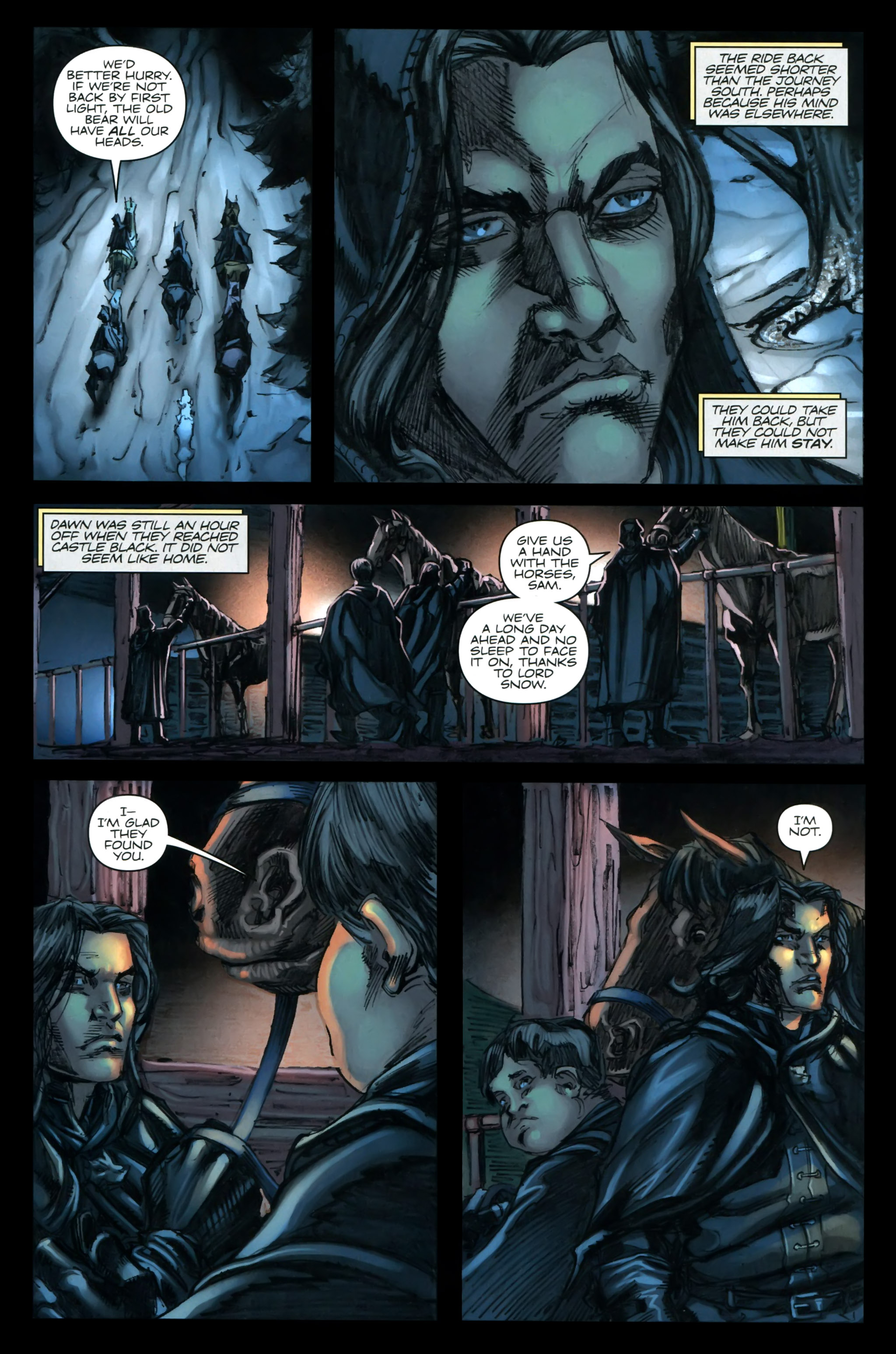 Read online A Game Of Thrones comic -  Issue #24 - 9