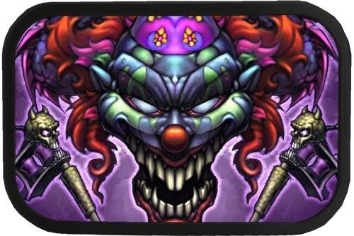 Clown Girl Tattoo Meaning: Sexy Tattoos: Evil Strong Clown Tattoo Design