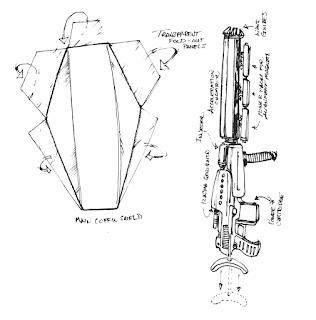 XSeed Shield and Rifle