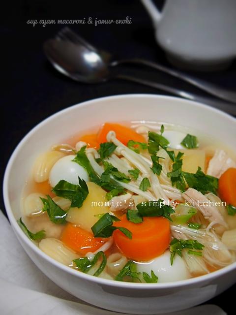 resep sup ayam bumbu dasar