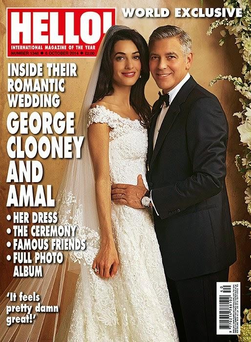 Amal Alamuddin S Oscar De La Renta Dress And Wedding Photographs